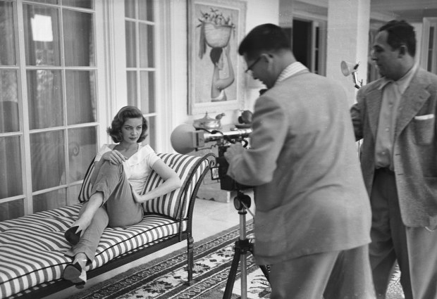 Photographing Bacall