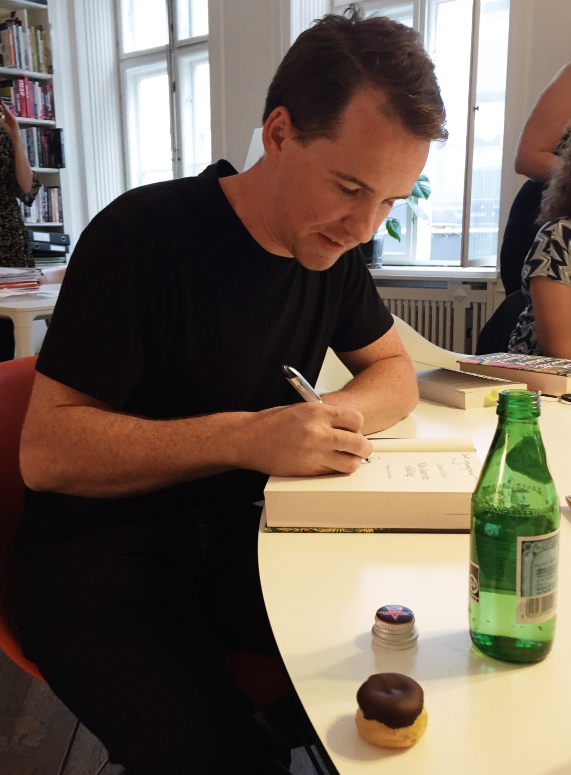 Gabriel Tallent My Absolute Darling signing book blog